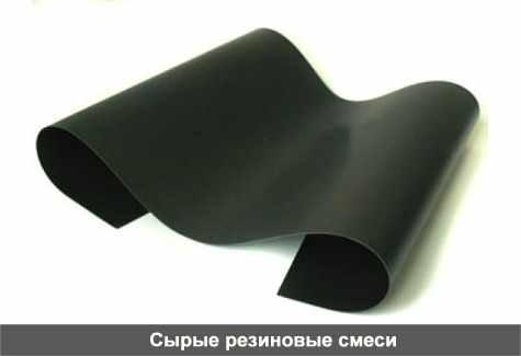 Сырые резиновые смеси